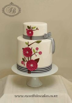 At Sweet Bites Cakes, we work with you to create a wedding cake that is a truly splendid centrepiece for your wedding reception. We ...