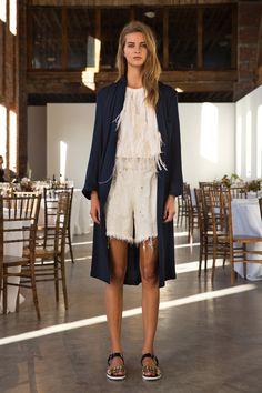 #RachelComey #Spring/2014 #Catwalk #trends #MBFWNY #NewYork #SS/2014 #shorts #pantalonesCortos #nudeColor on Style.com