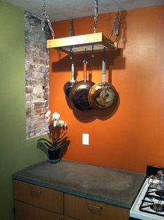 IKEA Hackers: A simple hanging pot rack hack