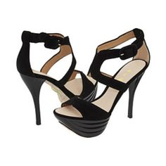 L.A.M.B. Suede Valora Beveled Platform Stiletto Brand new!!! Very chic and comfy. L.A.M.B. Shoes Platforms
