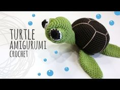 How to crochet a Turtle amigurumi Crochet Patterns Amigurumi, Crochet Dolls, Crochet Yarn, Free Crochet, Amigurumi Tutorial, Crochet Patterns For Beginners, Knitting Patterns Free, Free Pattern, Free Knitting