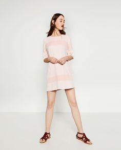 TWO-TONE JACQUARD DRESS-View All-DRESSES-WOMAN | ZARA United States