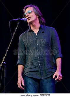 Aug. 07, 2011 - Mountain View, CA, USA -  Jackson Browne performs at the…
