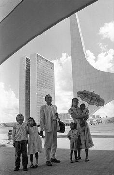 Brasilia vue par le photographe René Burri. - swissinfo.ch
