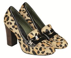 These leopard heels are by Edith & Ella and I love them! The shape is very classy and would suit a vintage/ pin up well.