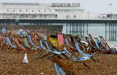 deck chairs on brighton beach - Google Search