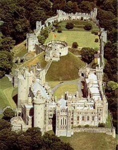 Arundel Castle in England.