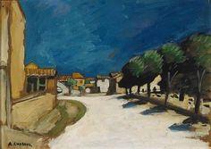 Auguste Chabaud, Entree de Village, Tarascon