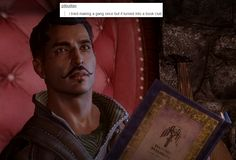 Dragon Age: Inquisition || Dorian. Book club. Yeah.