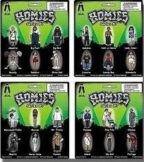 Homies Series 2 Carded Quot Mint On Cards Quot 4 Card Set