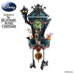 The Nightmare Before Christmas Cuckoo Clock, the best clock that has ever been created.