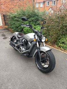 Custom Indian scout 2016