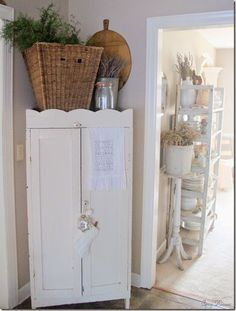**1** I love cabinets in corners..this is beautiful!