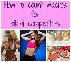 A MUST read for bikini competitors!!! This info is so useful
