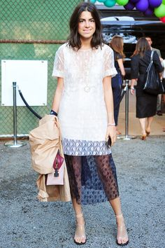 Fashion Move: Over-the-top layering Style Insider: Leandra Medine Why they don't get it: For most, the concept of layering means putting a jacket on when it's cold. We've got no limits to what we'll pile on. Dresses over dresses, skirts over pants, bras over shirts — more is more!