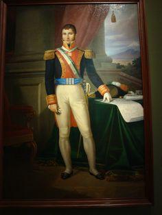 Retrato de Agustin de Iturbide (primer Imperio Mexicano)
