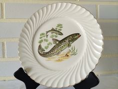 French Villa, Boat House, Pie Dish, Vintage Antiques, Collections, Plates, Dishes, Tableware, Sweet