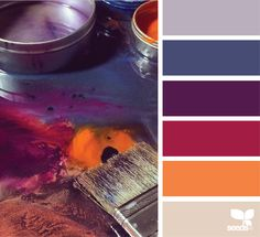 {painterly hues} image via: @natashashorofineart                                                                                                                                                     More
