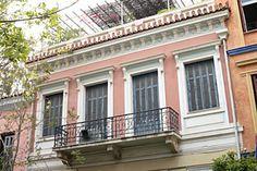 ΑΡΧΕΙΟ ΝΕΟΤΕΡΩΝ ΜΝΗΜΕΙΩΝ - Νεοκλασική διώροφη κατοικία, Θεμιστοκλέους 69