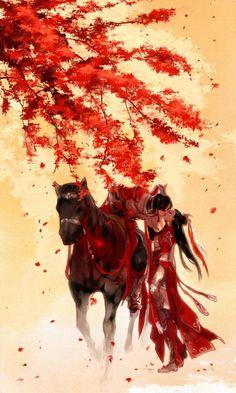 Thiên Sách (Tranh của Y Xuy Ngũ Nguyệt)