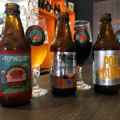 Algumas cervejas da Tupiniquim #cerveja #degustacao #beer #tasting