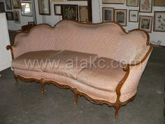 Victorian Style Couch with Matching Chair Atakc.com