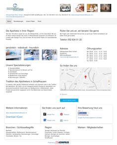 Volksapotheke Roter Ochsen, Schaffhausen, Schaffhausen, Apotheke, Hausspezialitäten, Medikamente