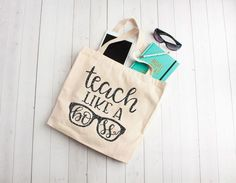 Teach Like a boss, teacher appreciation gifts, Custom tote bags, unique teachers gift ideas, cotton book bag – redshine Gag Gifts, Craft Gifts, Best Gifts, Teacher Appreciation Gifts, Teacher Gifts, Teacher Tote, Thank You Gifts, Gifts For Him, Custom Tote Bags