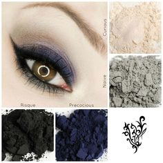 Gorgeous pigments. Can be used and eyeliner as well.  www.cosmeticmusthaves.com