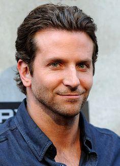 Bradley Cooper. THAT HAIR,
