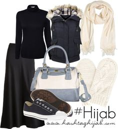 Hashtag Hijab Outfit...love this cool laid back modest outfit