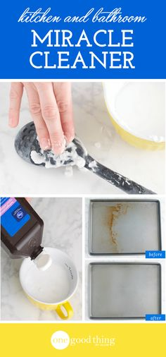 I've used this homemade cleaner to clean stains I thought I'd never get rid of! You won't want to miss these impressive before and after photos!