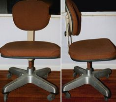 Vintage Industrial 1930s Machine Age CRAMER CO. Air Flow Task Office Chair (2 Available)