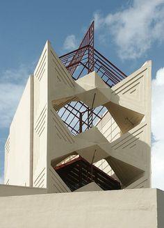 "Frank Lloyd Wright""Annie M. Pfeiffer Chapel""Florida Southern College, 1941, Lakeland USA"