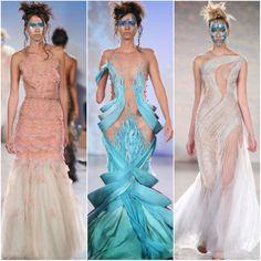 Runway Report: Maison Hendrik Vermeulen Spring / Summer 2016 ... Spring Summer 2016, Runway, Jewellery, Formal Dresses, Collection, Design, Art, Fashion, Cat Walk