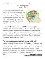Seventh Grade Reading Comprehension Worksheet - Your Amazing Brain - Have Fun Teaching