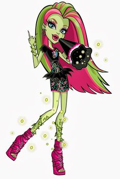 Monster High: Venus McFlytrap! Venus McFlytrap is the daughter of a plant monster. Always loud and outspoken, she is an avid environmentalist, and is always encouraging others to take better care of the earth and her fellow plants. Her pet is a flytrap plant called Chewlian.