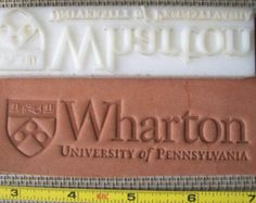 Custom Leather Stamp or Leather Embossing Die - Long Size