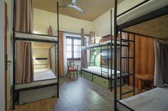 Hostel Little Quarter - Basic 6 Bed Mixed Dorm Hostel, Bunk Beds, Dorm, Divider, Furniture, Home Decor, Dormitory, Decoration Home, Room Decor