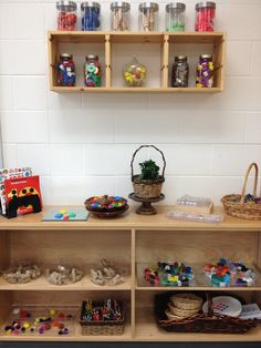 Art and loose parts storage from Transforming our Learning Environment into a Space of Possibilities ≈≈