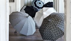nice stuff: beautiful umbrellas by Molly Marais Copenhagen Shops, Umbrellas, Copenhagen, Nice, Beautiful, Home Decor, Tents, Decoration Home, Room Decor