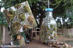 Bird Nesting Material Dispenser. Gloucestershire Resource Centre http://www.grcltd.org/scrapstore/