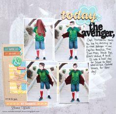 today the avenger *Scrapbook Circle* - Scrapbook.com