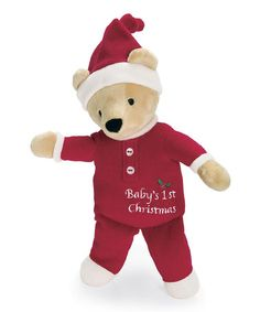 Take a look at this Christmas Bear Plush Toy by North American Bear Co. on #zulily today!  $7.99