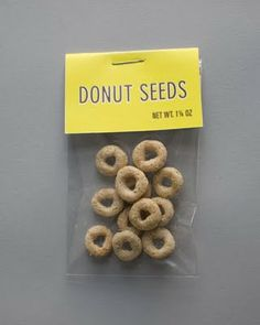 Funny pictures about Donut seeds. Oh, and cool pics about Donut seeds. Also, Donut seeds photos. Do It Yourself Baby, Little Presents, Girl Scout Swap, Swaps For Girl Scouts, Thinking Day, Creative Thinking, Wishful Thinking, College Humor, Secret Santa