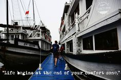 Traveling in Ha Long Bay in Vietnam Facing Fear, Ha Long Bay, Ways Of Seeing, New Perspective, Disappointment, Travel Quotes, Passport, Traveling By Yourself, Egypt