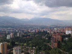 Vista/ verde/ ciudad