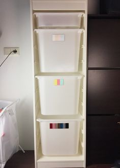 Wäsche sortieren Montessori Ikea-Hack