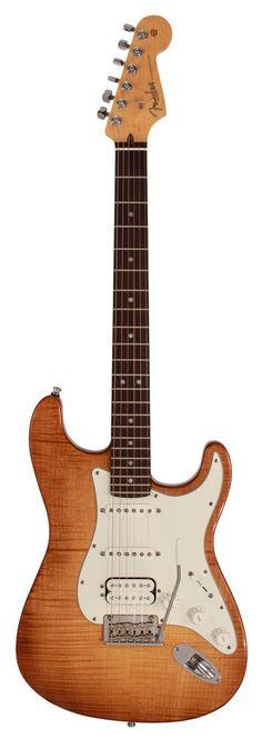 Fender American Select Stratocaster HSS, Antique Burst