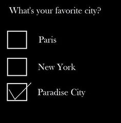 Take me down to the Paradise city where the grass is green and the girls are pretty...